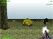 Turkey Shootout 3D game