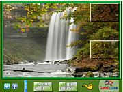 Puzzle Craze Nature Waterfalls game
