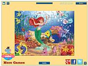 Ariel Jigsaw game