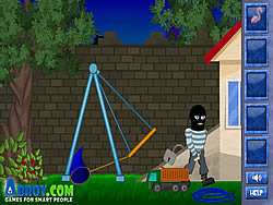 Clumsy Robber game