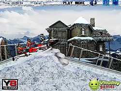 Snowmobile Racing game