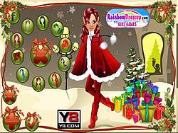 December Cover Elf-Girl game
