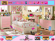 Girl Hidden Objects game
