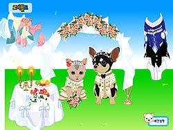 Pet Wedding Dress up game