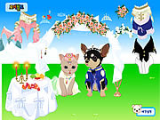juego Pet Wedding Dress up