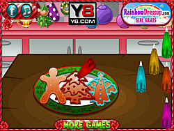 Christmas Cookbook game