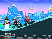 Santa Snow Ride game