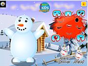 Snow Man Merry Christmas game