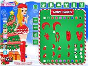 Christmas Doll Creator game