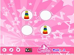 Baby Toy Matching Game game