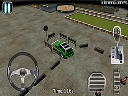 Vehicles Parking 3D game