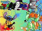 Dress Up Stitch game