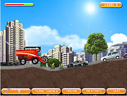 Gather Fruits for Christmas game