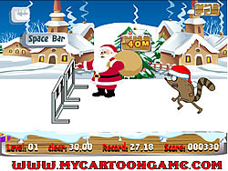 Regular Show Christmas Competition game
