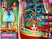 Baby Christmas Bath game