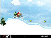 Santa Claus Bike game