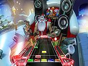 เล่นเกมฟรี Santa Rockstar HD