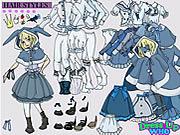 Alice in Wonderland Dress Up game