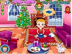 juego Baby Hazel Christmas Time