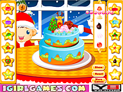 Super Christmas Cake game