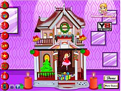 Barbie Christmas House game