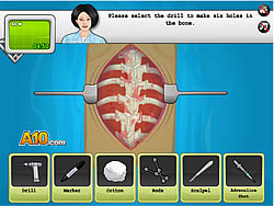 Operate Now: Scoliosis Surgery game