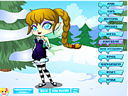Ice Fairy Princess Dressup game