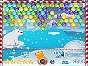 Winter Bubbles game