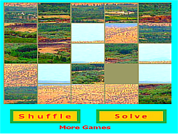 Nature Jigsaw game