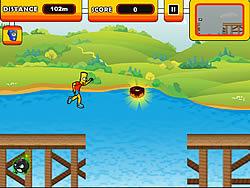 Run Bart Run game
