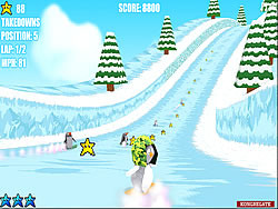 Ice Run - RumbleSushi 3D game