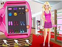 Barbie Studio Makeover game