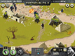 The Expendables 2 - Deploy & Destroy game