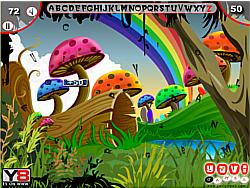 Jungle Hidden Alphabets game