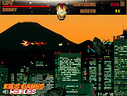Iron Man - City Flight game