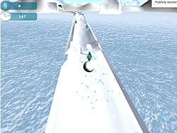 Snowball Adventure game