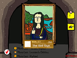 Famous Painting Parodies game