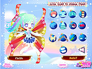 Snow Fairy Dressup game