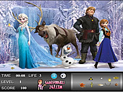 Frozen Hidden Objects game