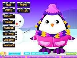Adorable Penguin Dressup game