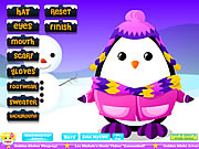Adorable Penguin Dressup game