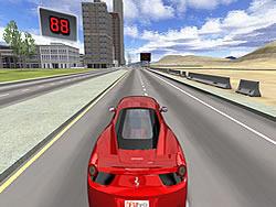 3D Ferrari F458 game