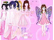 juego Pink Butterfly Dress up