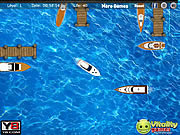 Yacht docking worldwide game