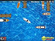 Yacht docking worldwide game