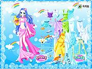 Aquarius Zodiac Dress up game