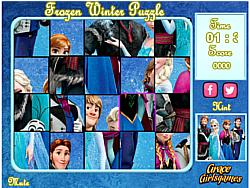 Jucați jocuri gratuite Frozen Winter Puzzle