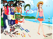 jeu Thailand Beach Dress up
