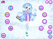 Snowflakes Dressup game