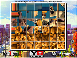 The Nut Job Spin Puzzle game